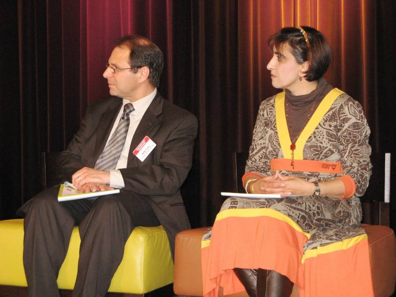 National Values Education Forum 2008 - Andy Furco, Nazreen Dasoo