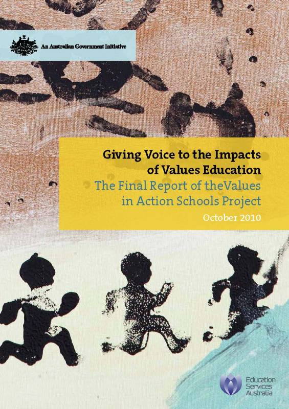 Values in Action Schools Project: Final Report