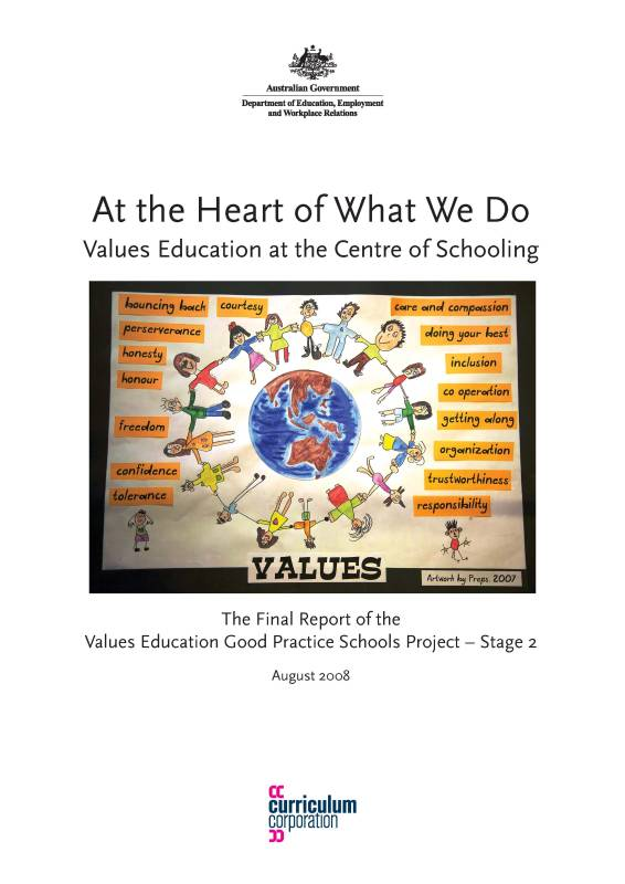 Values Education Good Practice Schools Project - Stage 2: Final Report